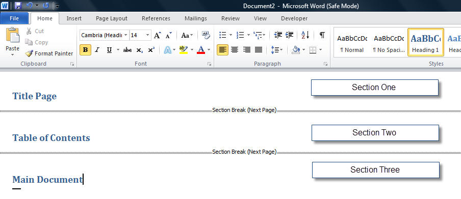 how to make a cover letter on word 2010